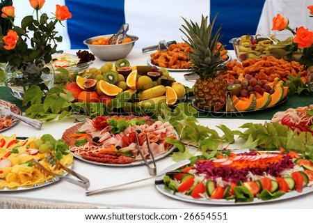 Banquet - stock photo