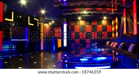 Banquet Function Lounge - stock photo