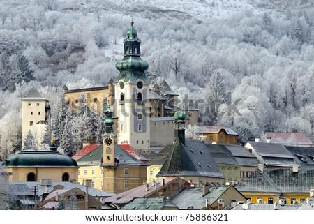 Banska Stiavnica, Slovakia - stock photo