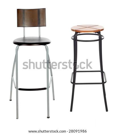 bar chair - stock photo