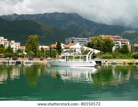Bar city, Montenegro - stock photo
