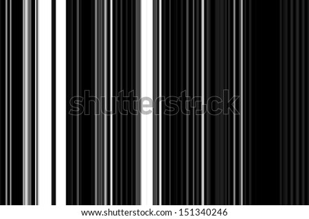 Bar Code Background - stock photo