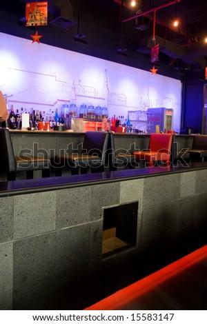 Bar Interior - stock photo