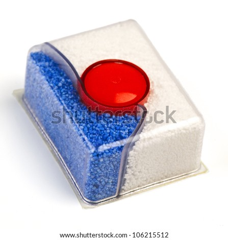bar of soap for dishwashers - stock photo