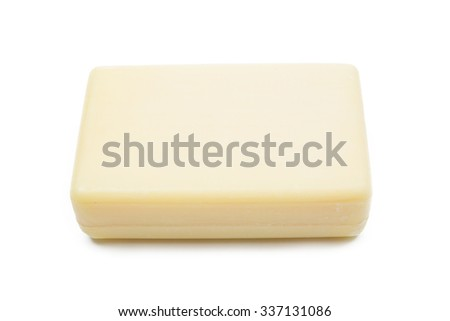 Bar Of Soap Isolated on white