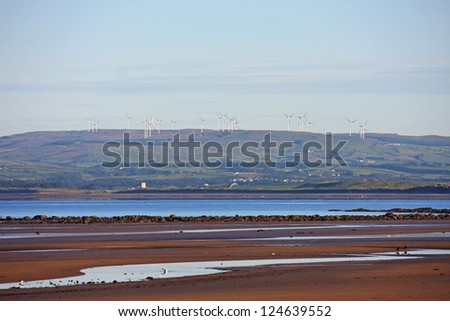 Barassie Beach, Troon - stock photo