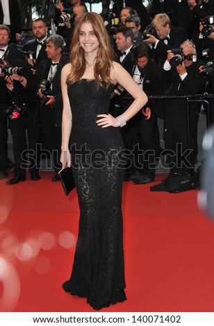 "Barbara Palvin at gala premiere for ""All Is Lost"" at the 66th Festival de Cannes. May 22, 2013  Cannes, France"