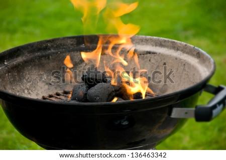Barbecue grill - stock photo