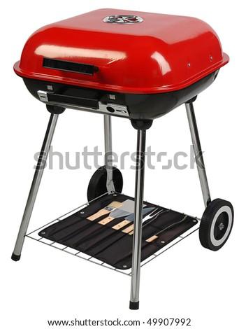 Barbecue grill. - stock photo