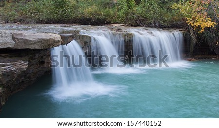 Barbershop Falls West Virginia - stock photo