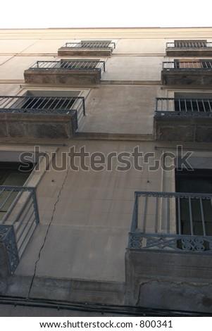 Barcelona Apartments - stock photo