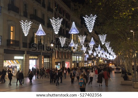 Barcelona Christmas Stock Images, Royalty-Free Images & Vectors ...
