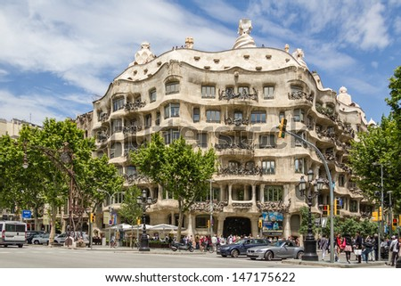 Modern Architecture In Barcelona barcelona spain detail stock images, royalty-free images & vectors