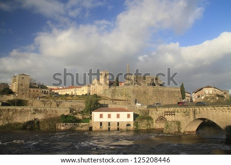 Barcelos historical site in the afternoon, Portugal - stock photo