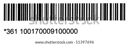 barcode - stock photo