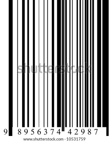 Barcode in digital format high resolution Note:barcode is fictitious