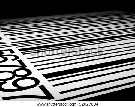 Barcode Level - stock photo