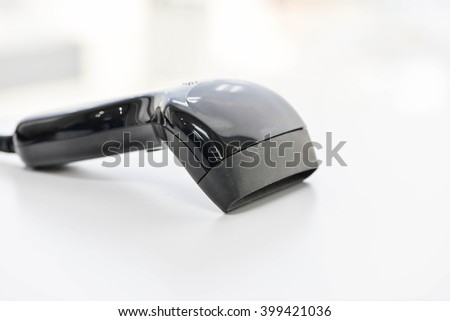 Barcode scanner - stock photo