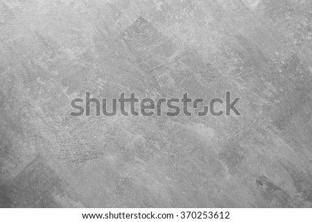 Bare plaster wall background, Grey wallpaper - stock photo