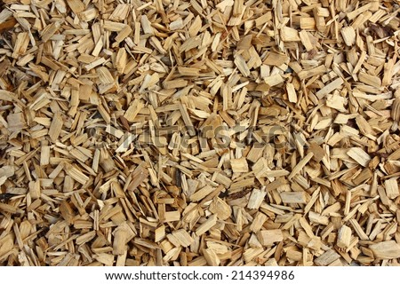 Bark mulch structure - natural background