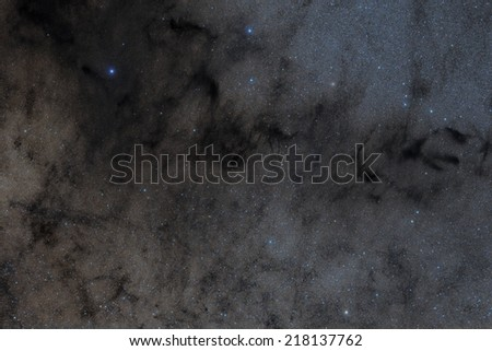 Barnard 78, Commonly Known as the Pipe Bowl Nebula - stock photo