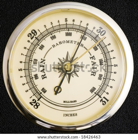 barometer rising Analog & digital barometers a barometer is a popular weather instrument that measures atmospheric air pressure generally, when the pressure is high or rising, you can expect clear cool weather.