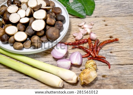 Barometer Earthstars and Thai herb ingredients
