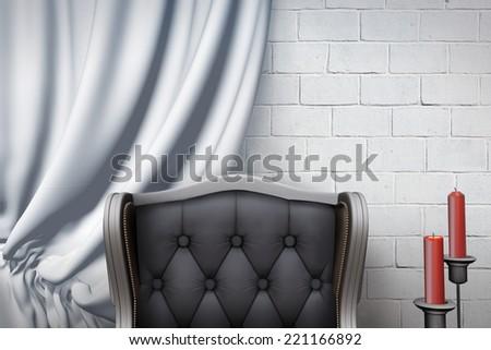Baroque Interior - stock photo
