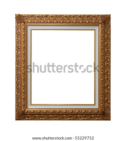 Baroque Picture Frames Put Your Own Stock Photo Edit Now 55229752