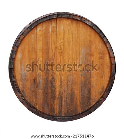 Barrel isolated on white - stock photo