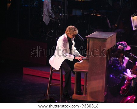 Barry Manilow - stock photo