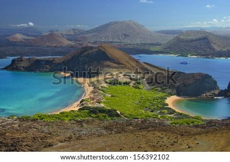 Bartolome Island, Galapagos, Ecuador - stock photo