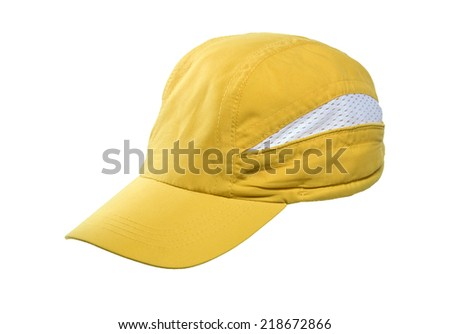 Baseball Cap Yellow