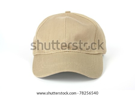 Baseball hat isolated on white background