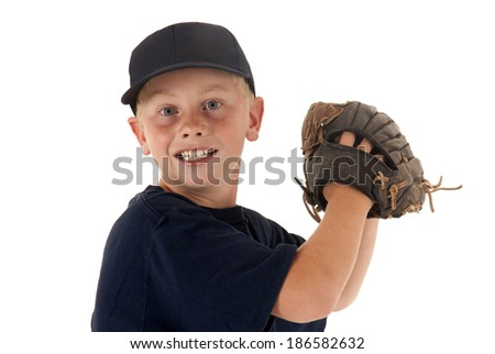 baseball pitcher ready to throw the ball - stock photo