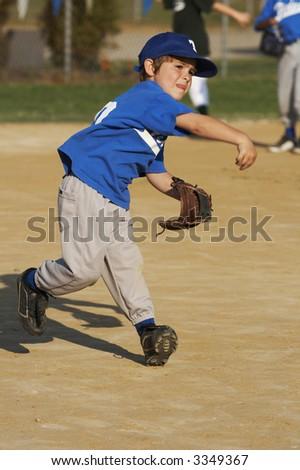 baseball player - stock photo