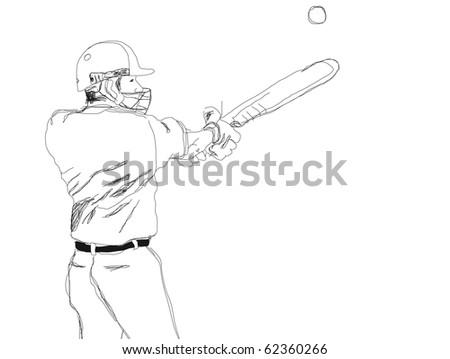 Baseball player. - stock photo