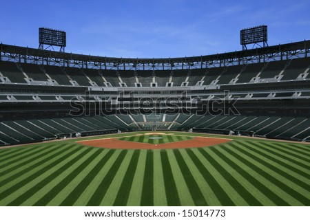 Baseball Stadium - stock photo