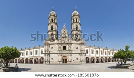 Basilica de Zapopan, Guadalajara, Jalisco, Mexico - stock photo