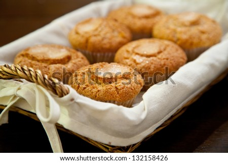 Basket of Muffins or Cupcakes