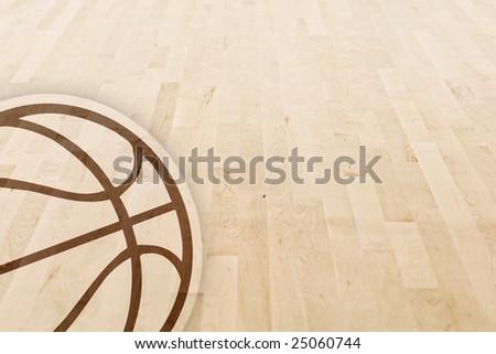 Basketball Floor Texture Basketball Floor Stock Photo
