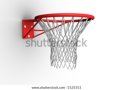 Basketball hoop 02 - stock photo