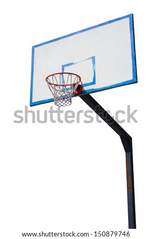 basketball hoop - isolated