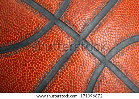 Basketball Lines and Texture for Sports Background - stock photo