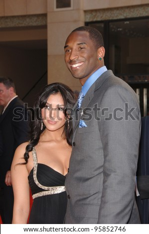 Basketball star KOBE BRYANT & wife at the 2006 ESPYS Sports Awards at the Kodak Theatre, Hollywood. July 12, 2006  Los Angeles, CA  2006 Paul Smith / Featureflash - stock photo