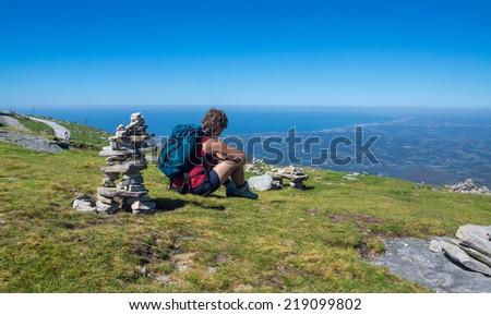 Basque country - stock photo
