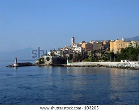 Bastia - stock photo
