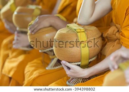 Bat - Traditional Thai religion style. - stock photo