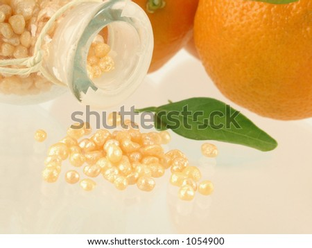 bath caviar - stock photo