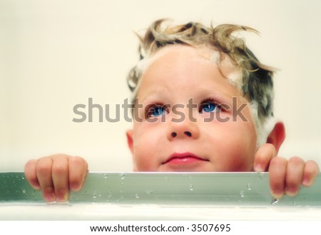 Bath time - stock photo